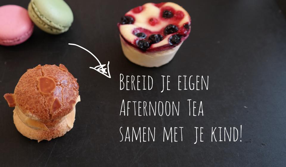 Afternoon tea voor kinderen!
