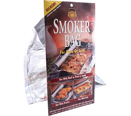 Gerookte kipfilet uit de rookzak