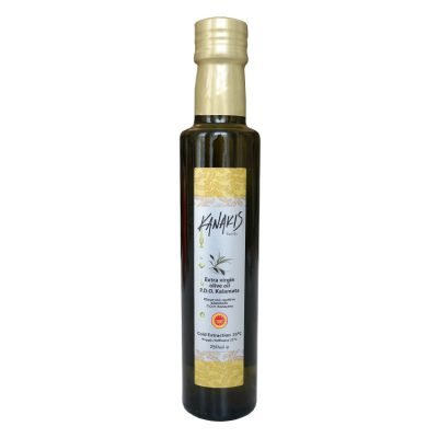PDO Kalamata olijfolie, extra Virgin 250 ml